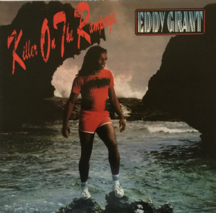 Eddy Grant - Killer On The Rampage (LP) (VG-EX/VG-)